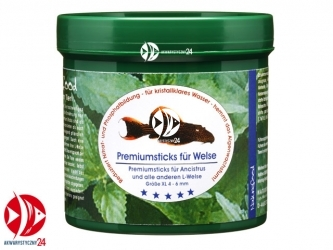 Naturefood Premium Catfish Sticks | Pokarm dla zbrojników i sumików.
