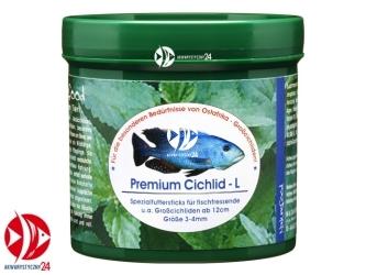 Naturefood Premium Cichlid L 280g | Pokarm dla afrykańskich pielęgnic wszystkożernych i mięsożernych.