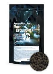 BRIGHTWELL AQUATICS FlorinVolcanit Rio Escuro-XF 2,4l (FVEX5) - Czarne, bardzo drobnoziarniste (ok. 1 mm) podłoże bazowe z wypalanego popiołu wulkanicznego.