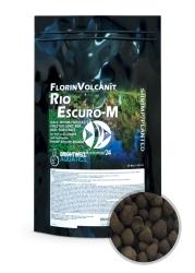 BRIGHTWELL AQUATICS FlorinVolcanit Rio Escuro-M (FVEM5) - Czarne, średnioziarniste (ok. 5mm) podłoże bazowe z wypalanego popiołu wulkanicznego.