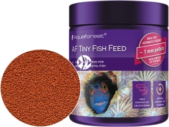 AQUAFOREST AF Tiny Fish Feed 120g - Pokarm dla niedużych morskich ryb ozdobnych