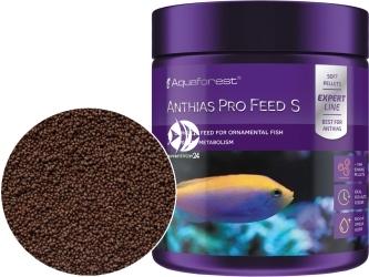 AQUAFOREST Anthias Pro Feed S 120g - Pokarm granulowany dla morskich ryb ozdobnych, m.in. Anthiasów oraz innych morskich ryb mięsożernych