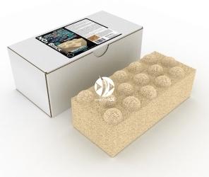 BRIGHTWELL AQUATICS Xport NO3 Brick (XPBRICNO3) - Ultraaktywne wysokowydajne medium denitryfikacyjne w kształcie cegły, wzbogacone o siarkę elementarną.