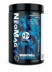 BRIGHTWELL AQUATICS NeoMag 1kg (NEOM1000) - Magnez wysokiej czystości w postaci medium do stosowania w reaktorach na media filtracyjne w akwariach rafowych