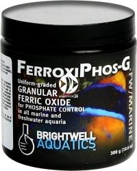 BRIGHTWELL AQUATICS FerroxiPhos-G 300g (FOXG300) - Tlenek żelaza (III) w formie granulatu do regulacji stężenia fosforanów we wszystkich akwariach