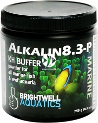 BRIGHTWELL AQUATICS Alkalin8.3-P (ALKP250) - Bufor KH w proszku do akwariów morskich i rafowych.