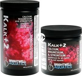 BRIGHTWELL AQUATICS Kalk+2 (KALK100) - Suplement wapnia, magnezu i strontu dla wszystkich akwariów morskich z obsadą rybną i akwariów rafowych.