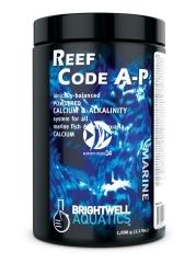 BRIGHTWELL AQUATICS Reef Code A-P (RCAP250) - Zbilansowana formuła w proszku zawierająca jony wapnia i stabilizator zasadowości do akwariów morskich