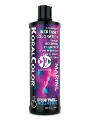 Brightwell Aquatics KoralColor | Formuła wzmacniająca wybarwienie koralowców, małży i organizmów im pokrewnych.