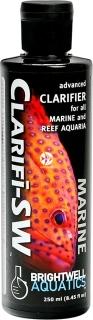 BRIGHTWELL AQUATICS Clarifi-SW (CSW250) - Zaawansowany preparat klarujący do wszystkich akwariów morskich z obsadą rybną i akwariów rafowych.