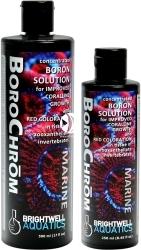 BRIGHTWELL AQUATICS BoroChrom (BCM250) - Skoncentrowany roztwór boru, wspiera wzrost koralowców i poprawia czerwone wybarwienie u zooksantelli.