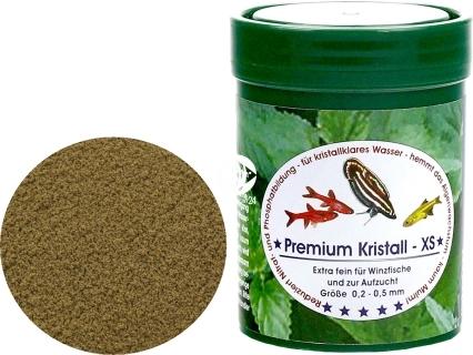 NATUREFOOD Premium Kristall (31121) - Tonący pokarm dla ryb wszystkożernych i mięsożernych