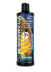 BRIGHTWELL AQUATICS Vitamarin-M (VTM125) - Zaawansowany suplement multiwitaminowy do akwariów morskich z obsadą rybną i akwariów rafowych.