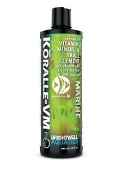 BRIGHTWELL AQUATICS Koralle-VM (KVM125) - Zaawansowany suplement witamin, mikroelementów i pierwiastków śladowych dla akwariów rafowych.