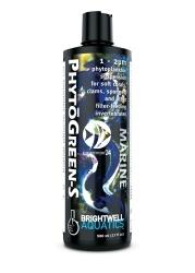 BRIGHTWELL AQUATICS PhytoGreen-S (PNS125) - Zawiesina fitoplanktonu w rozmiarze 1-2 um dla miękkich koralowców, SPS, małży, gąbek, filtratorów.