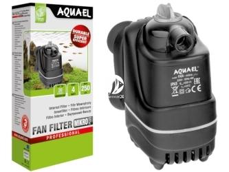 AQUAEL FAN FILTER MIKRO PLUS (107621) | Filtr wewnętrzny z gąbką do akwarium max 30l