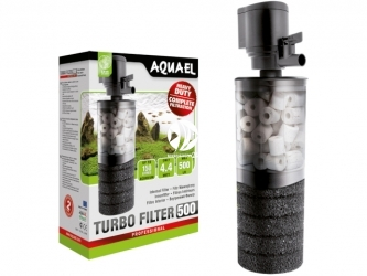 AQUAEL Turbo Filter (109401) - Filtr wewnętrzny z gąbką i ceramiką do akwarium