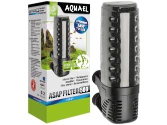 AQUAEL ASAP FILTER 500 (113612) | Filtr wewnętrzny do akwarium max 150l, łatwy w obsłudze i czyszczeniu