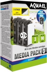 AQUAEL Media Set do Versa MAX Mini (113273) - Gąbka do filtracji mechanicznej