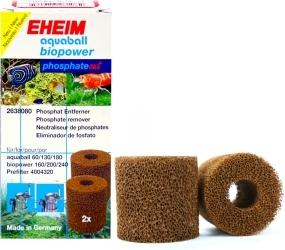 EHEIM AquaBall BioPower PhosphateOut (2638080) - Wkład gąbkowy, usuwający fosforany do filtra aquaball 60/130/180, biopower 160/200/240 i prefiltra 40