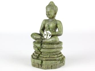AQUA DELLA Bayon bouddha 1 (234-194812) - Ręcznie malowany budda z bajon JASNY do akwarium [wymiary - 9x8,5x17,5cm]