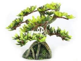 AQUA DELLA Bonsai mini sort c 6ST [234-420881] | Ręcznie malowany drzewo bonsai LIŚCIE do akwarium [wymiary - 9,5cm]