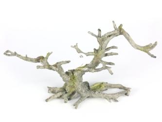 AQUA DELLA Bonsai without leaves Grey (234-424087) - Ręcznie malowany korzeń bonsai bez liści, szary do akwarium [wymiary - 35,5x10x17,5cm]