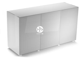 Aquael szafka Glossy ST 150 biała (121507) | Drzwi z laminowanego szkła SAFE TANK, 150x50x80cm
