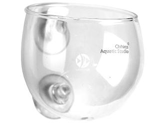 CHIHIROS Plant Glass Pot (340-0002) - Doniczka stworzona do hodowli małych roślin akwariowych