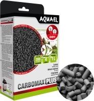 AQUAEL CARBOMAX PLUS - Wkład do filtracji chemicznej, który wychwytuje i wiąże substancje chemiczne oraz pochłania resztki lekarstw z wody akwariowej.