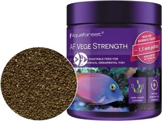 AQUAFOREST AF Vege Strength - Dobrze przyswajalny roślinny pokarm dla dużych, morskich ryb roślinożernych, m.in.: Pokolców.