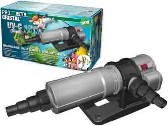 JBL Pro Cristal UV-C Compact 18W (60367) - Sterylizator do szybkiego usuwania zielonej wody w akwarium