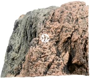 Back To Nature Rock module B (03000051) - Ozdoba imitująca kamień do akwarium lub terrarium