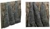 Back To Nature Slim Line Amazonas (03000101) - Płaskie tło modułowe z motywem korzenia i skał do akwarium i terrarium 50A 50x45cm