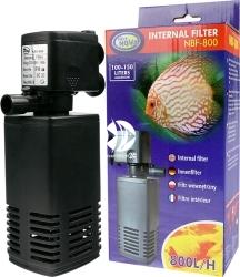 AQUA NOVA Filtr Wewnętrzny NBF-800 - Wydajny filtr do akwarium do 150L o mocy 15W