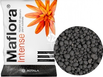 ROTALA Maflora Intense (Mafin10L) - Podłoże dla roślin akwariowych bogate w mikro i makro elementy.