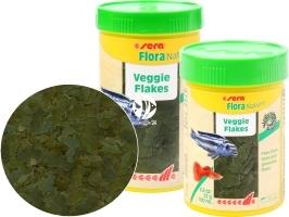SERA Flora Nature (32244) - Roślinny pokarm dla ryb akwariowych ze spiruliną