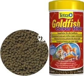 TETRA Goldfish Colour Sticks 250 ml (T199071) - Pływający pokarm w pałeczkach dla złotych rybek i innych gatunków zimnolubnych.