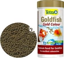 TETRA Goldfish Gold Colour 250ml (T753136) - Granulowany pokarm wybarwiający dla złotych rybek i innych gatunków zimnolubnych.