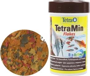 TETRA TetraMin Flakes (T762701) - Pływający pokarm płatkowany dla ryb akwariowych.