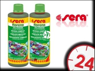 SERA FLORENA 100ml - Nawóz dla roślin akwariowych zapewniający bujną, soczystą zieleń.