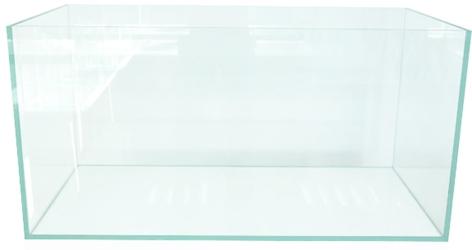 VIV Uszkodzone Akwarium 90x45x45cm [182l] 10mm #2 - wysokiej jakości akwarium z super transparentnego szkła.