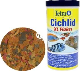 TETRA Cichlid XL Flakes 1000ml (T204294) - Tonący pokarm w płatkach dla pielęgnic z biotopu malawi, tanganika.
