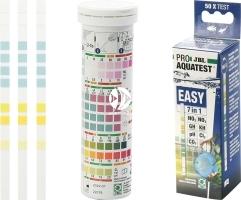JBL EasyTest 7w1 (24144) - Paski do testowania pH, Kh, Gh, NO2, NO3, Cl2 i CO2