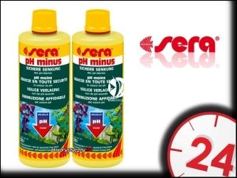 SERA pH/kH Minus - Preparat do bezpiecznego obniżania ph w akwarium słodkowodnym.