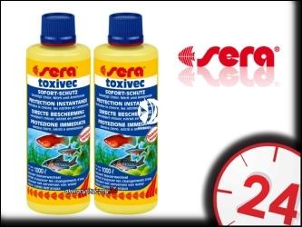 SERA TOXIVEC - Preparat natychmiast usuwa wszelkie toksyny z akwarium