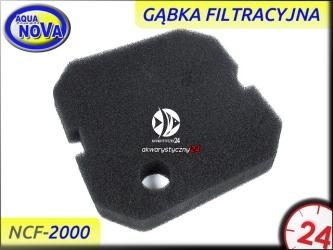 AQUA NOVA Gąbka filtracyjna czarna do filtra NCF-2000