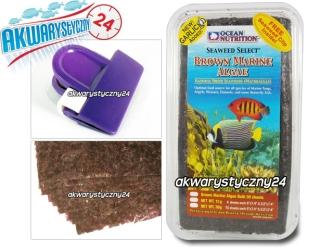 OCEAN NUTRITION BROWN MARINE ALGAE 30g - Brązowe algi morskie dla ryb morskich, roślinożernych i krewetek.