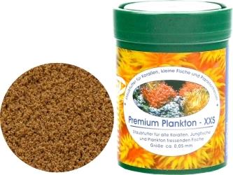 NATUREFOOD Premium Plankton XXS 45g - Pływający pokarm dla korali, narybku, ryb słodkowodnych i morskich