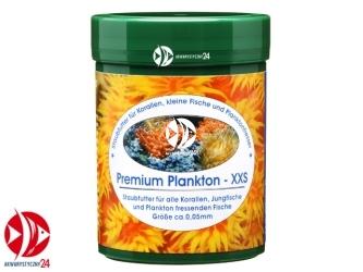 Naturefood Premium Plankton XXS 45g | Dobny pokarm (0,05mm) dla korali, narybku ryb słodkowodnych i morskich